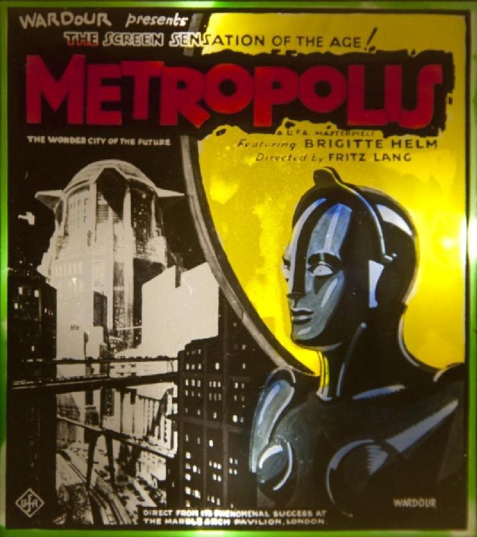 METROPOLIS GLASS SLIDE