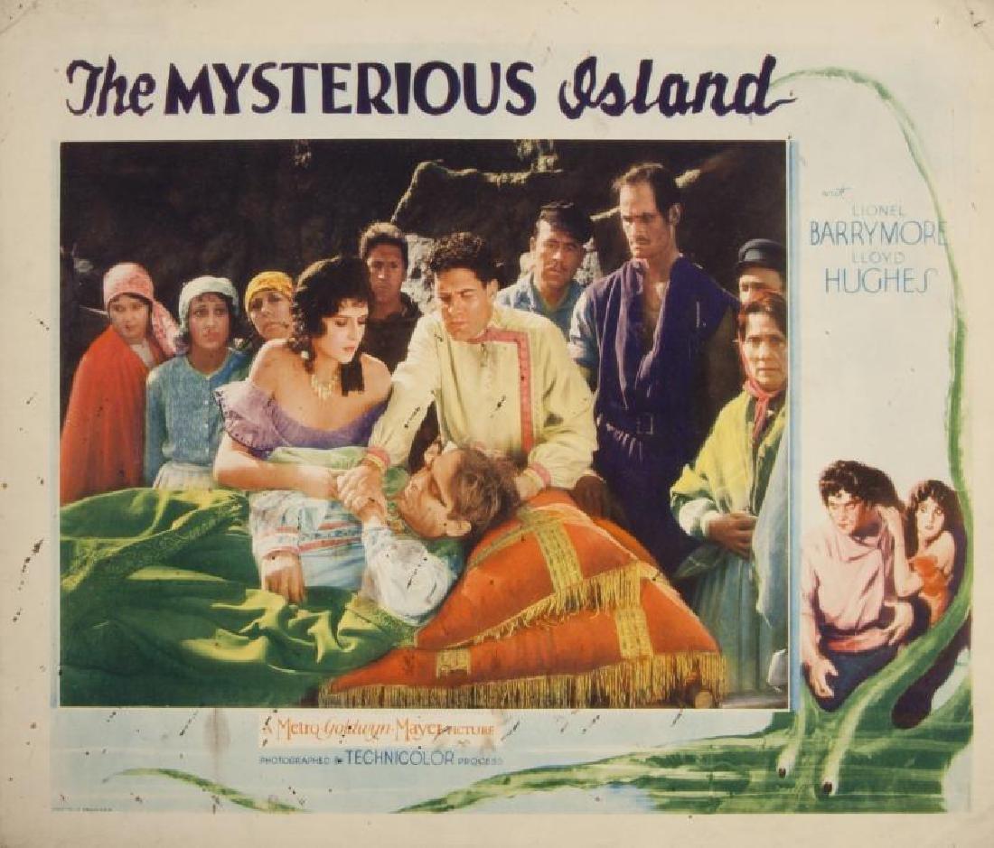 MYSTERIOUS ISLAND LOBBY CARD