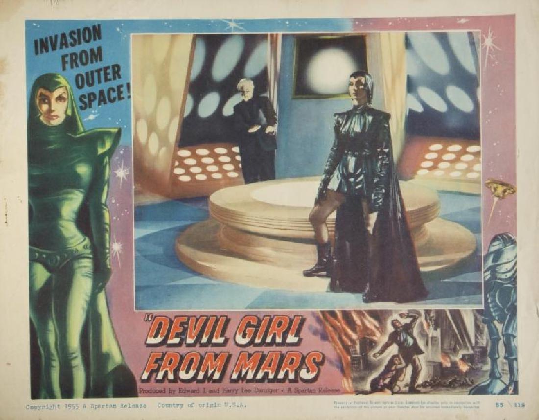 DEVIL GIRL FROM MARS LOBBY CARDS