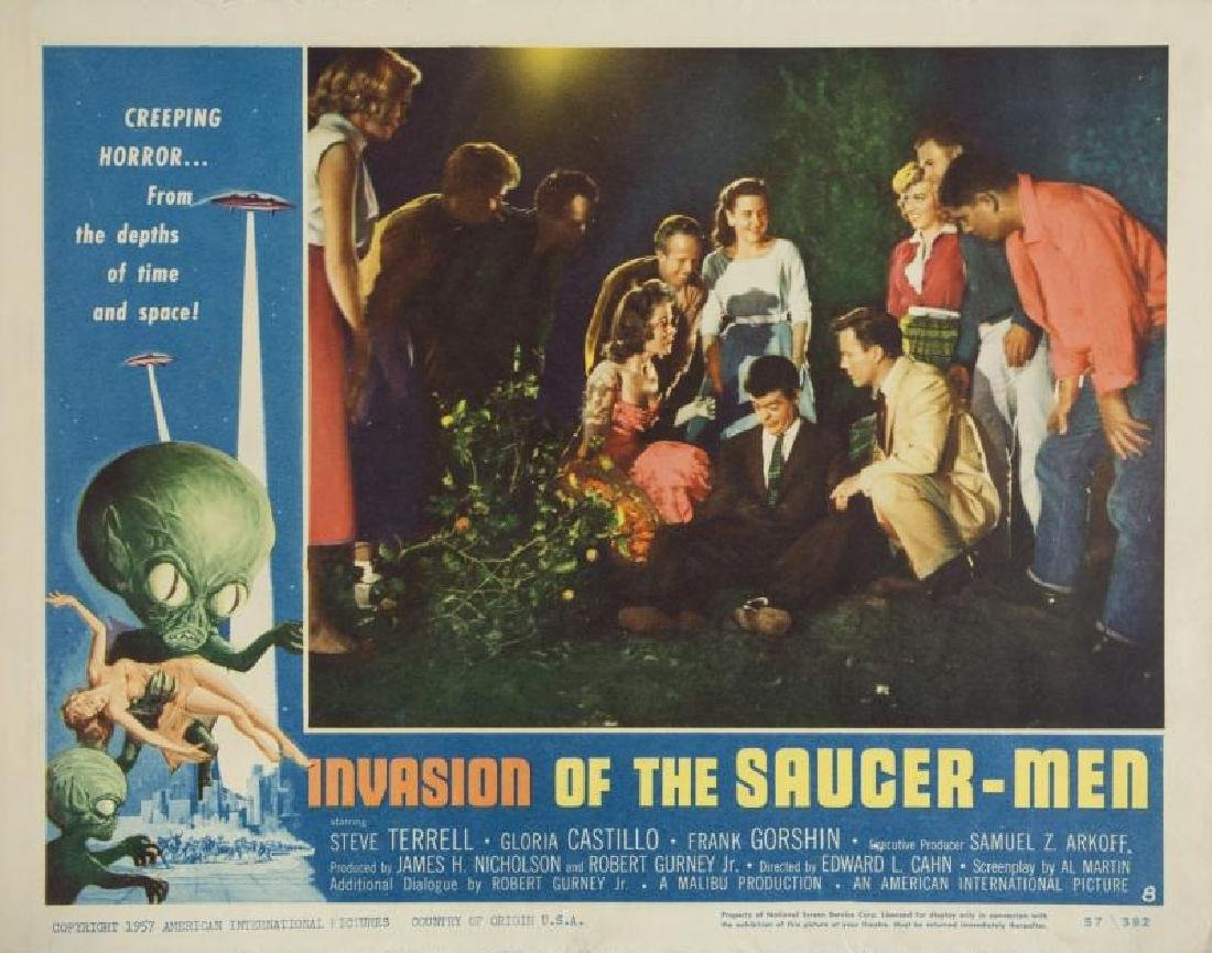INVASION OF THE SAUCER-MEN LOBBY CARD