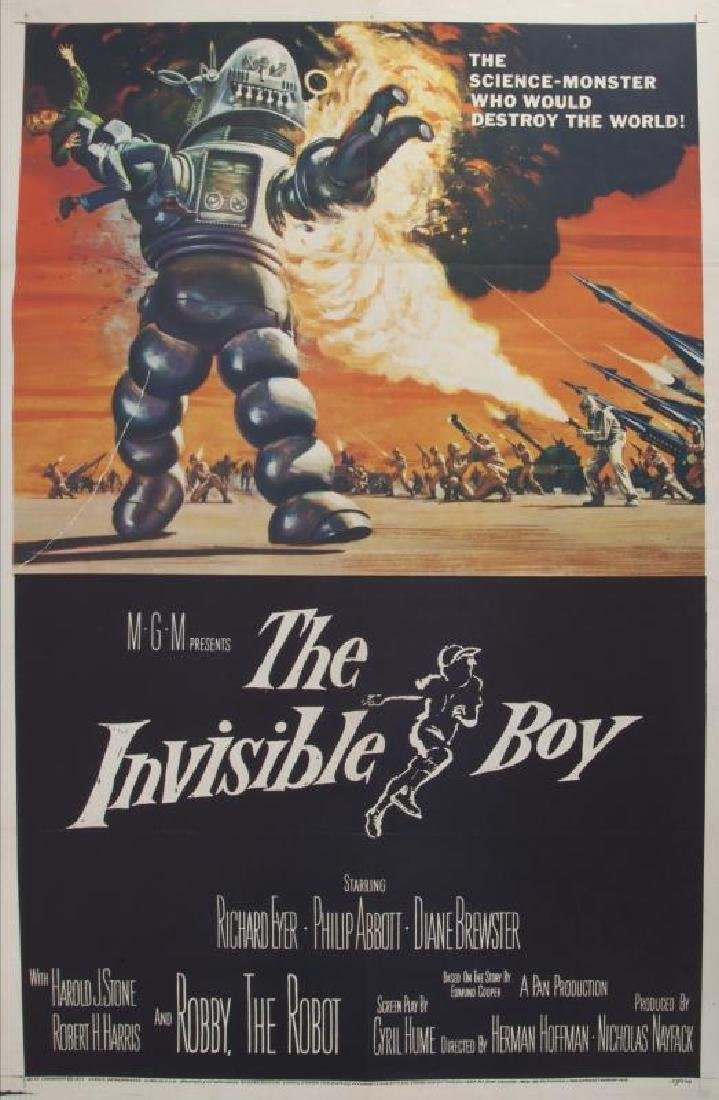 INVISIBLE BOY POSTER