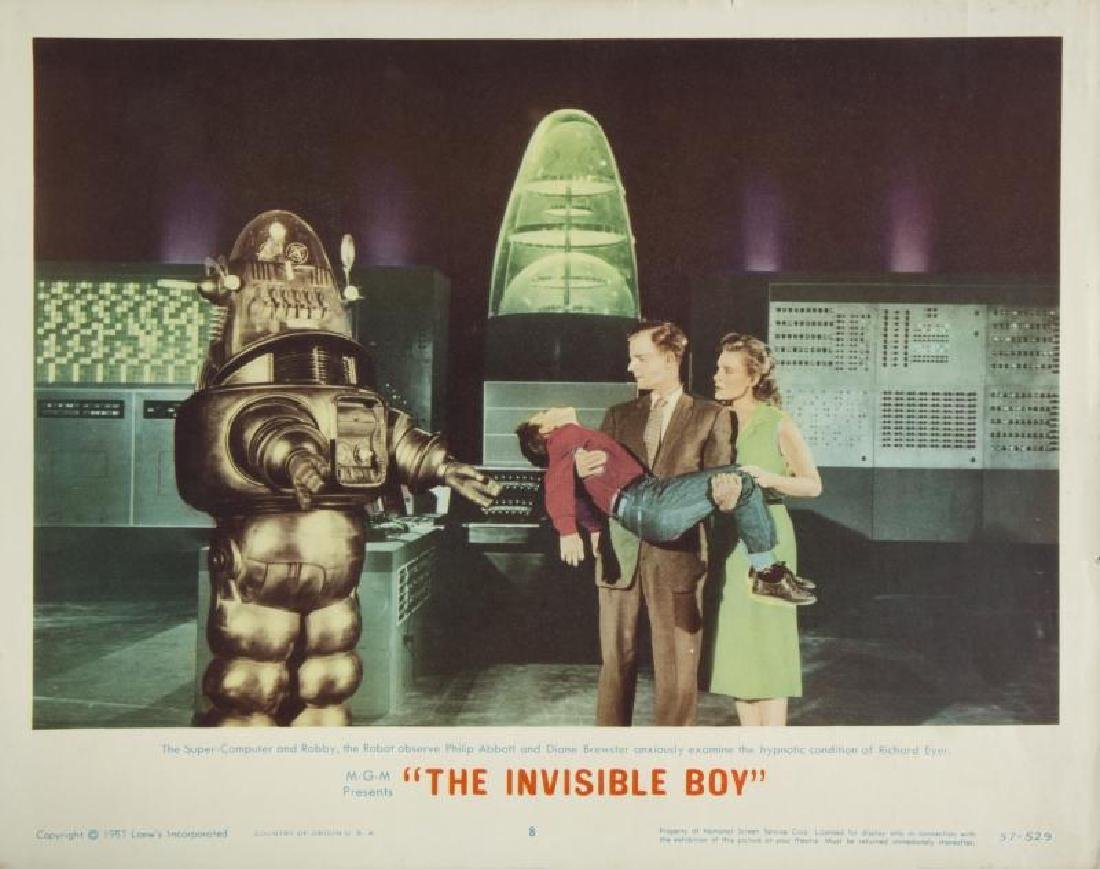 INVISIBLE BOY LOBBY CARD