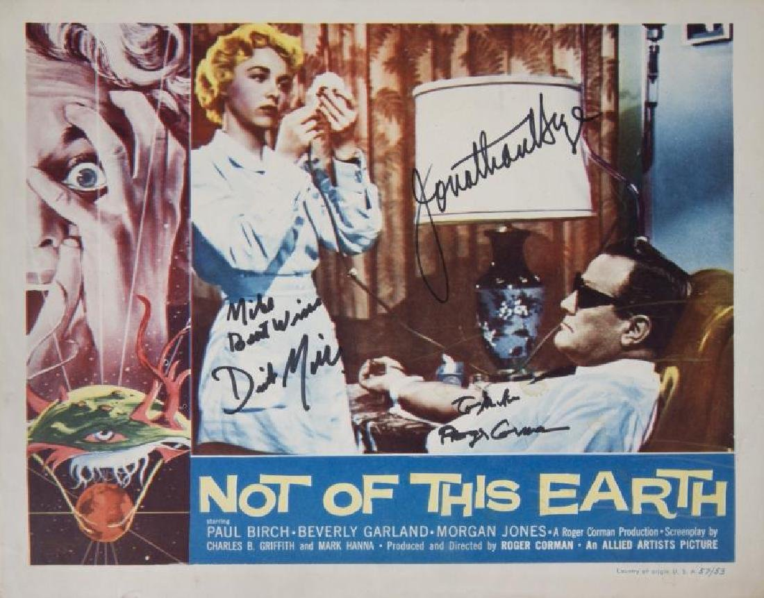 NOT OF THIS EARTH LOBBY CARDS