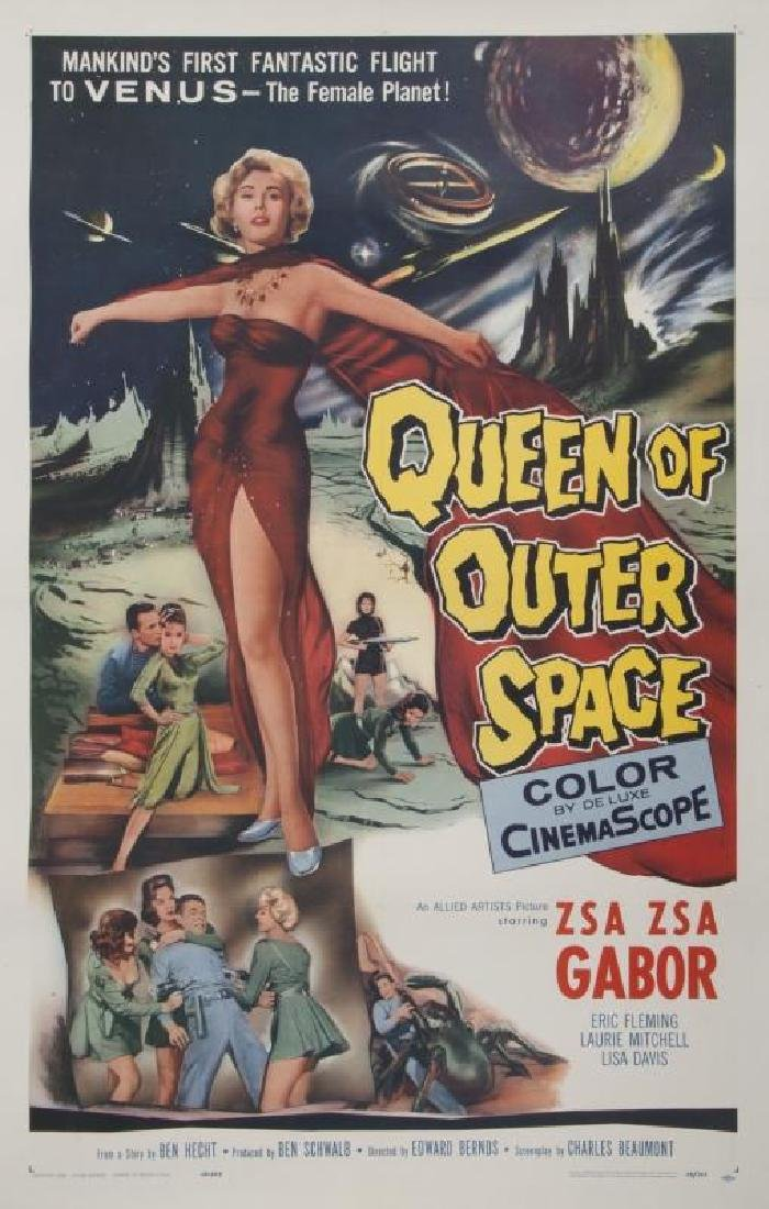 QUEEN OF OUTER SPACE POSTER