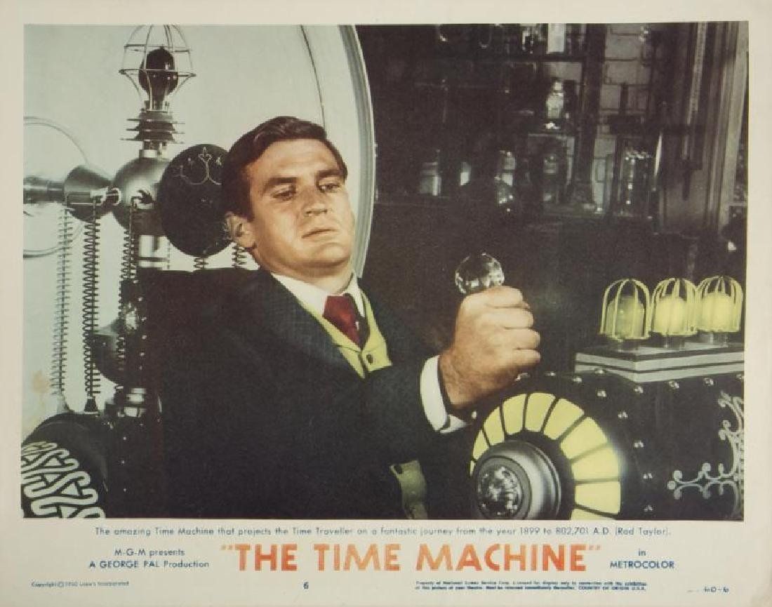 TIME MACHINE LOBBY CARDS - 2