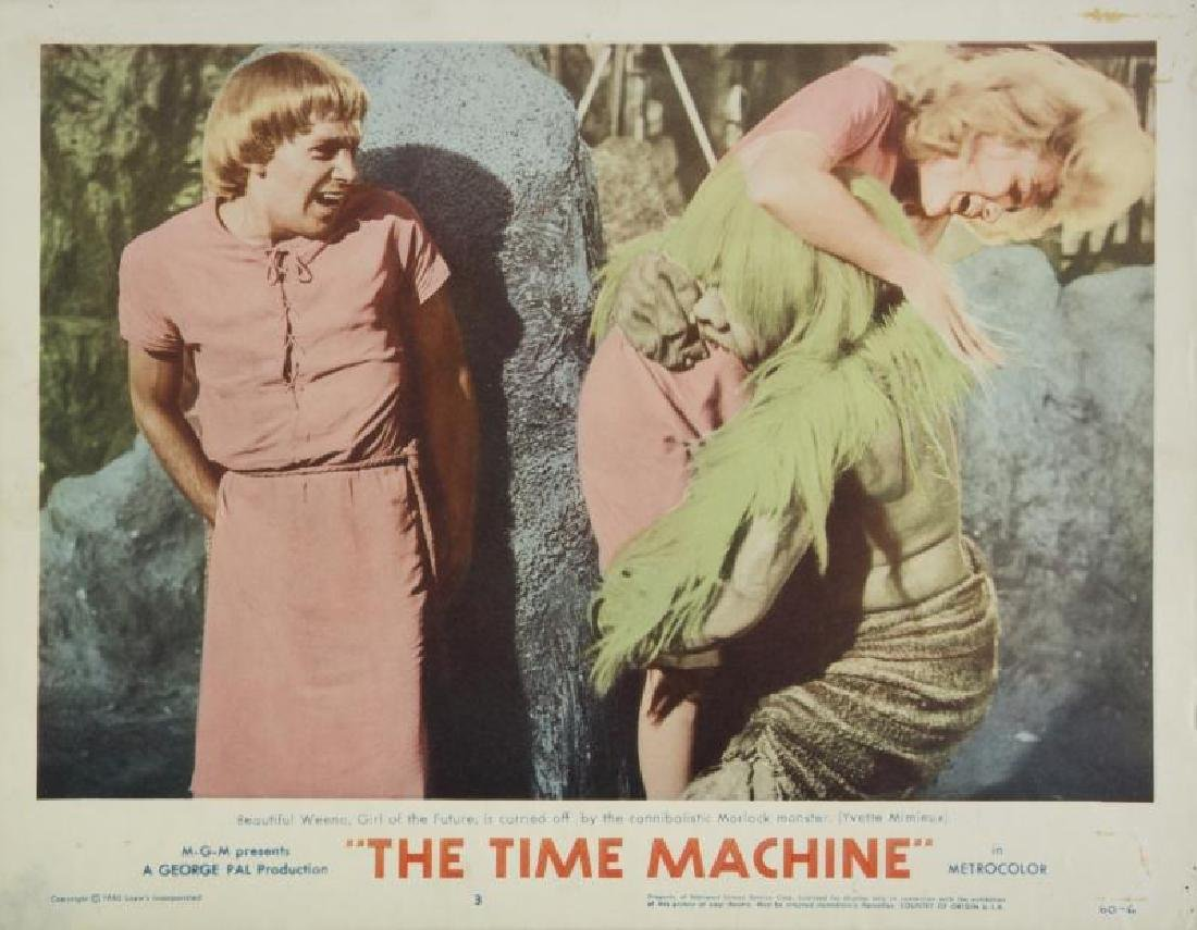 TIME MACHINE LOBBY CARDS - 4