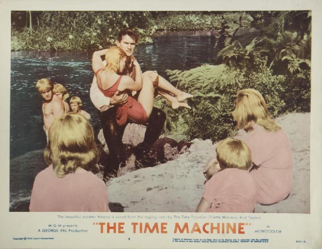 TIME MACHINE LOBBY CARDS - 5