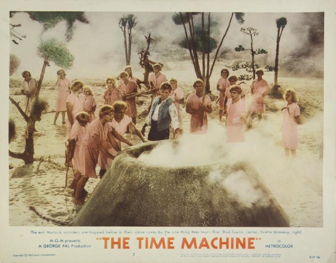 TIME MACHINE LOBBY CARDS - 6