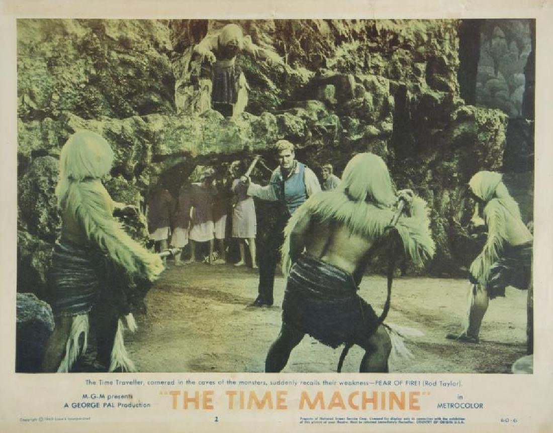 TIME MACHINE LOBBY CARDS - 7