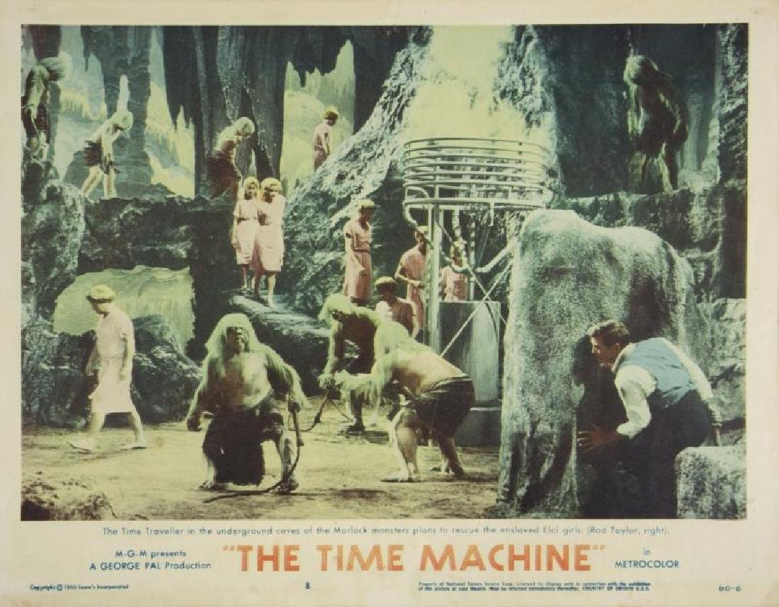 TIME MACHINE LOBBY CARDS - 8