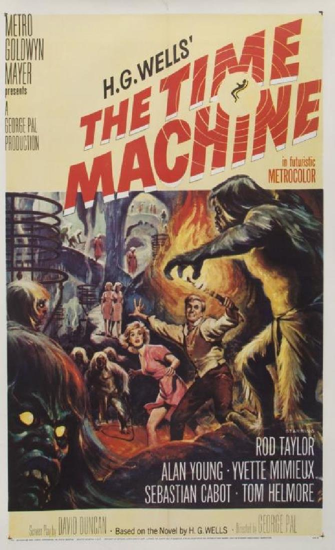 TIME MACHINE POSTER