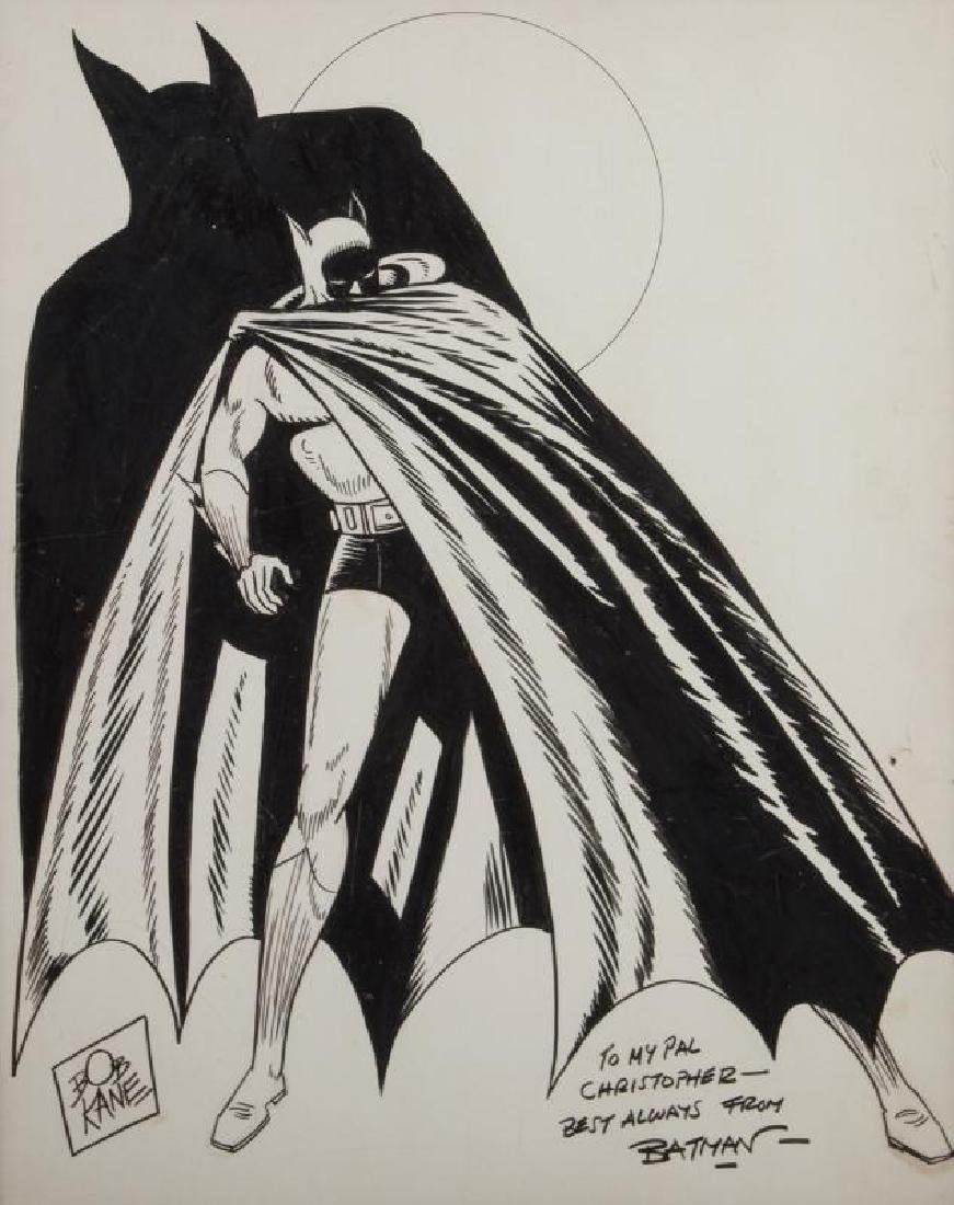 BATMAN ILLUSTRATION BY BOB KANE