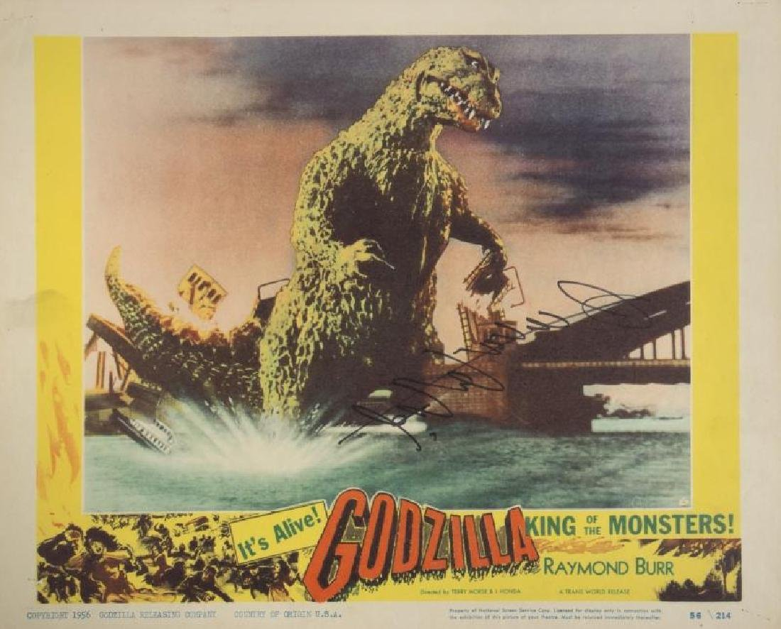 GODZILLA KING OF THE MONSTERS LOBBY CARD