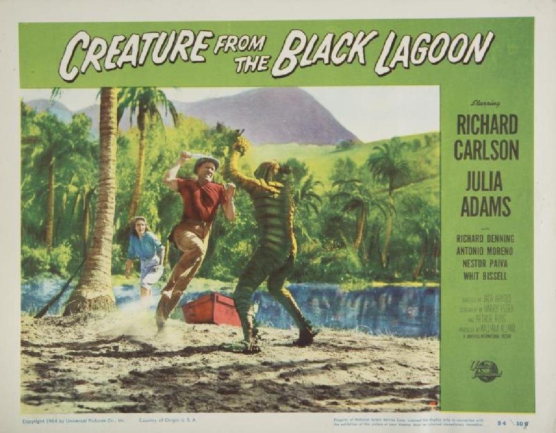 CREATURE FROM THE BLACK LAGOON LOBBY CARD