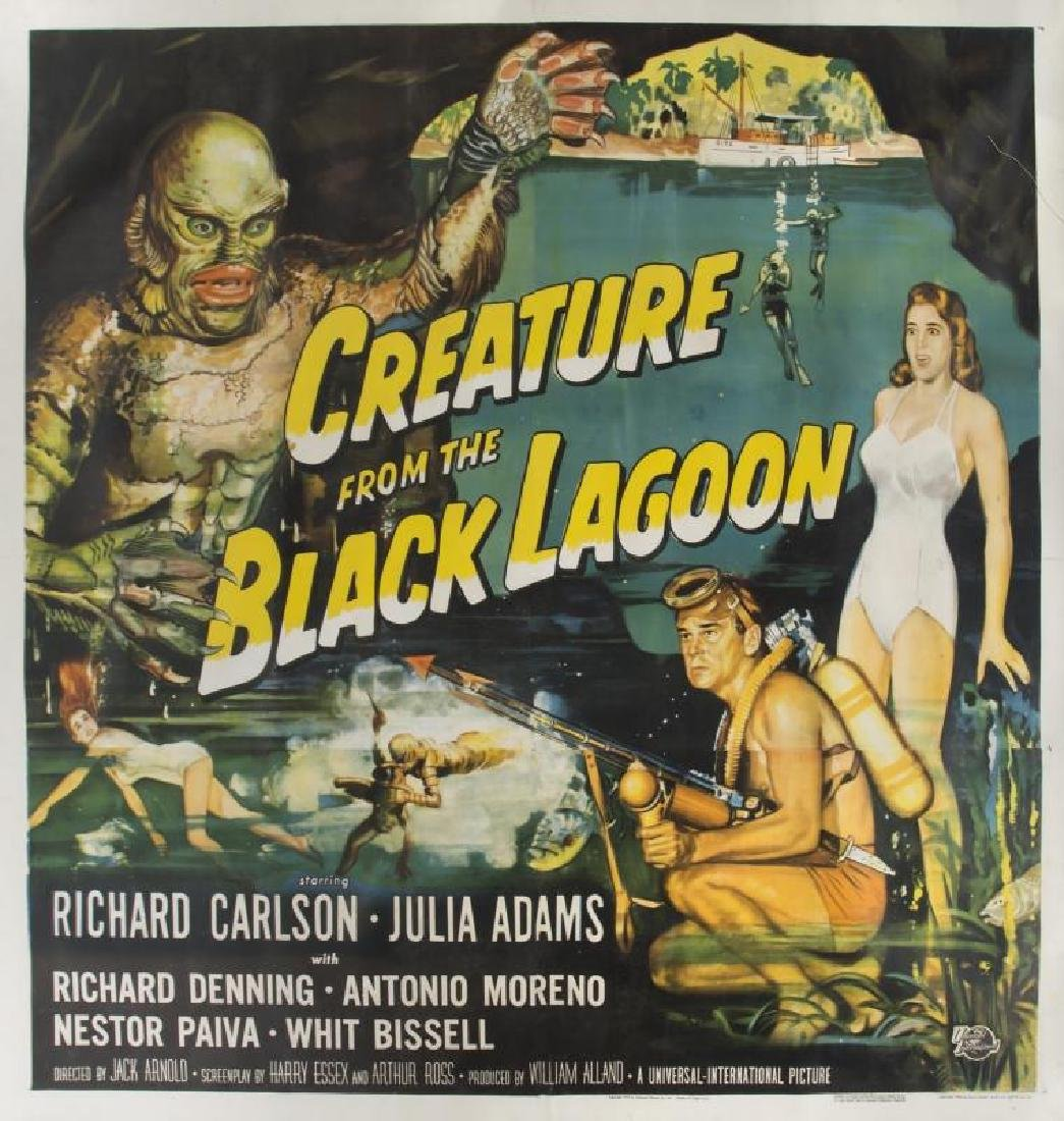 CREATURE FROM THE BLACK LAGOON SIX-SHEET POSTER