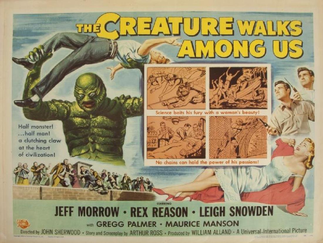 CREATURE WALKS AMONG US POSTER