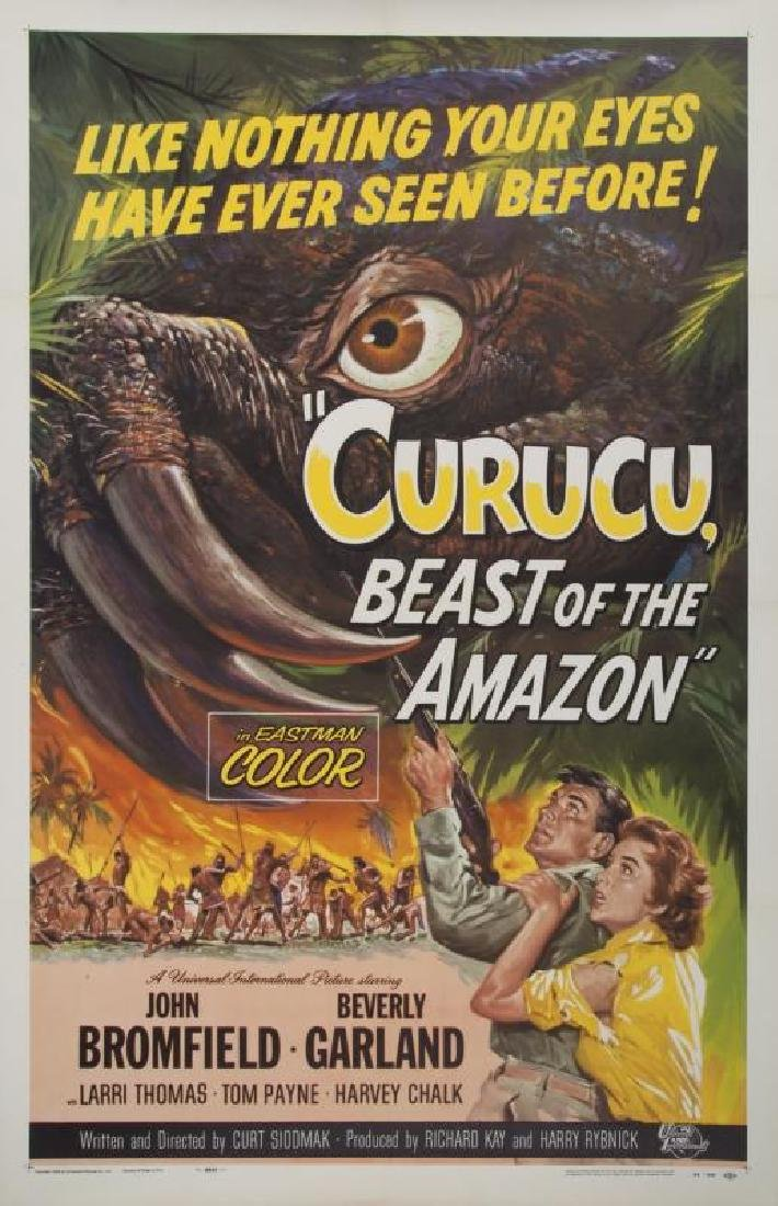 CURUCU BEAST OF THE AMAZON POSTER