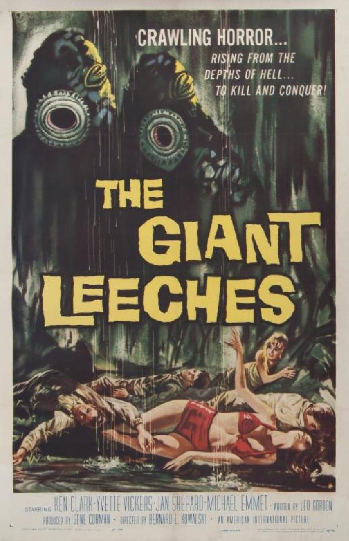 GIANT LEECHES POSTER