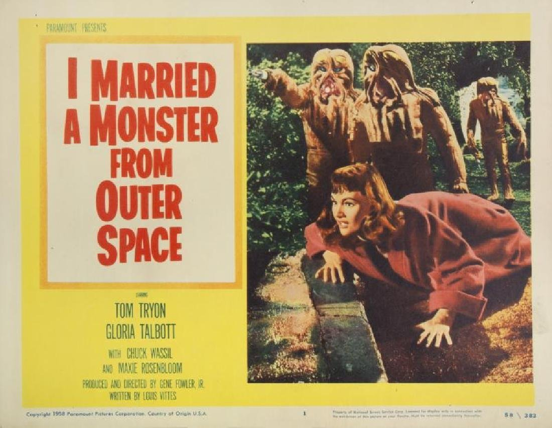 I MARRIED A MONSTER FROM OUTER SPACE LOBBY CARD