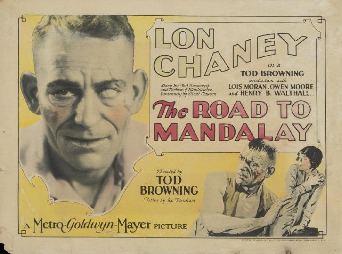ROAD TO MANDALAY LOBBY CARDS AND PHOTOGRAPHS