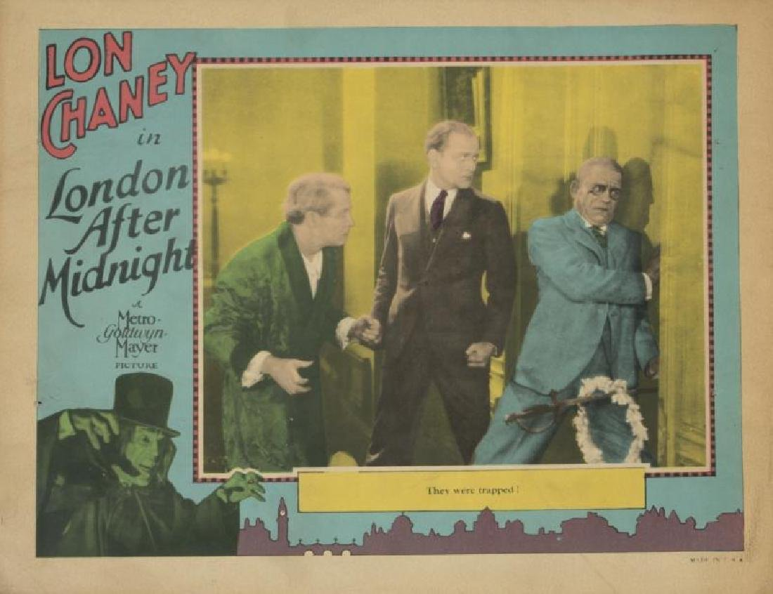 LONDON AFTER MIDNIGHT LOBBY CARDS