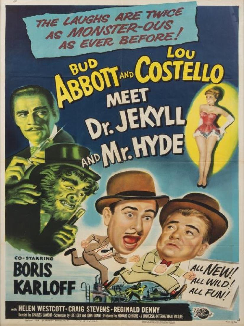 ABBOT AND COSTELLO MEET DR. JEKYLL AND MR. HYDE POSTER