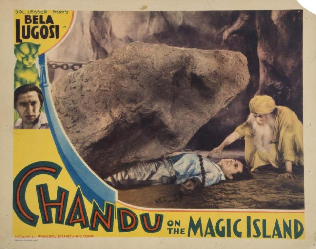 CHANDU ON THE MAGIC ISLAND LOBBY CARD