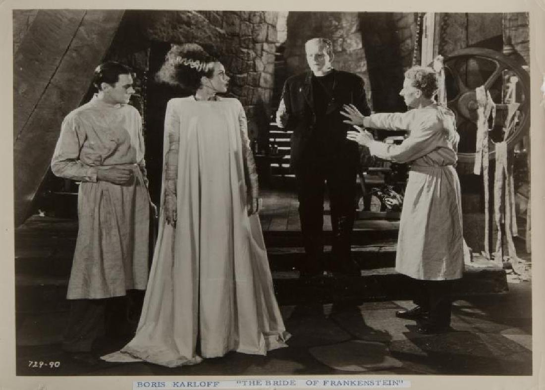 BORIS KARLOFF THE BRIDE OF FRANKENSTEIN PHOTOGRAPH