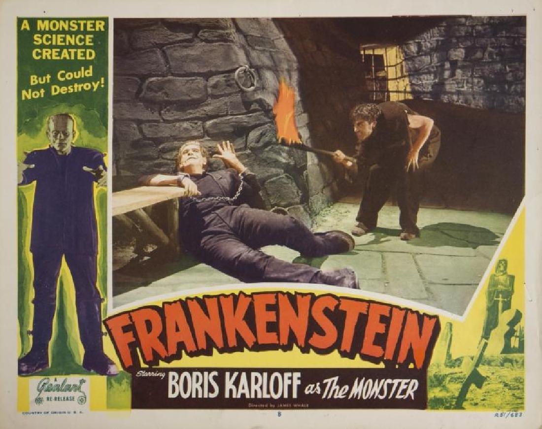 FRANKENSTEIN LOBBY CARD