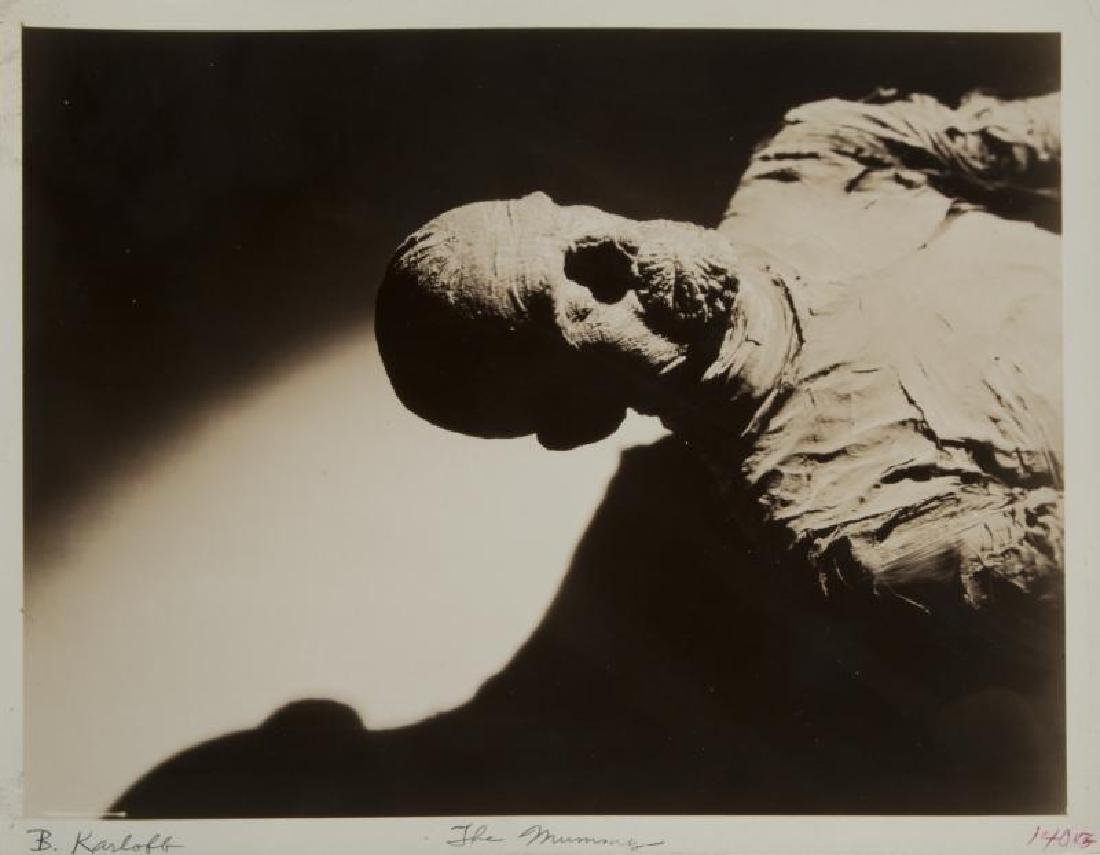 BORIS KARLOFF MUMMY PHOTOGRAPH