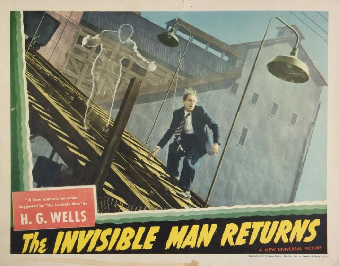 INVISIBLE MAN RETURNS LOBBY CARDS