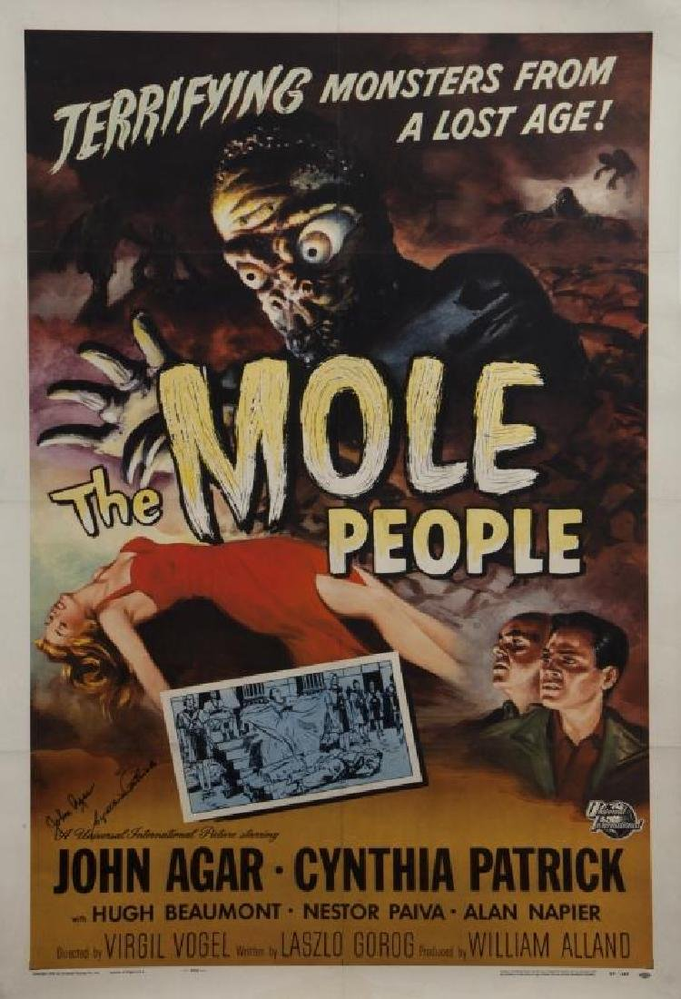 MOLE PEOPLE POSTER