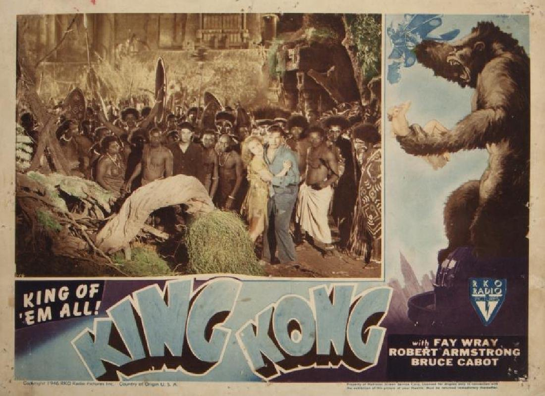 KING KONG LOBBY CARD