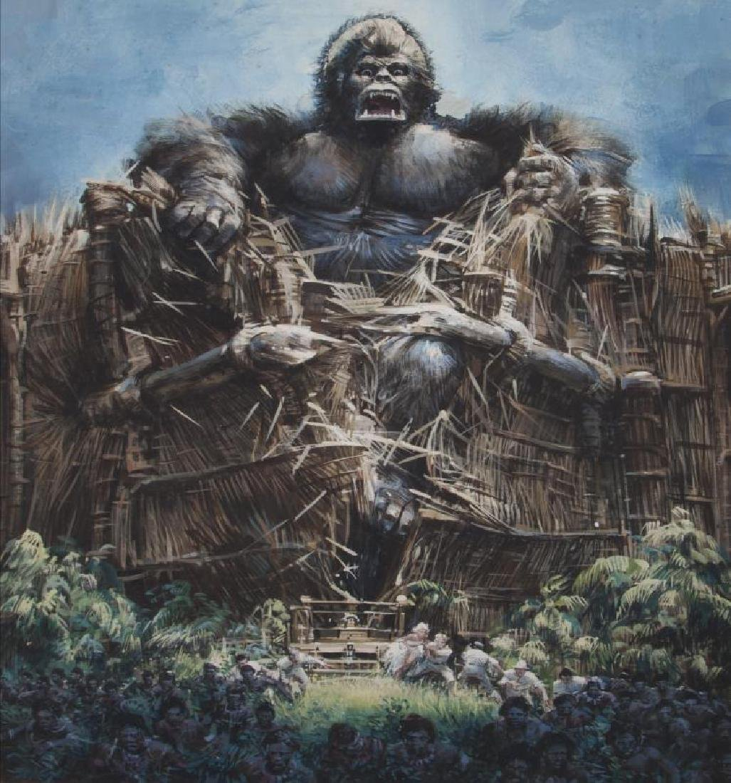 KING KONG ORIGINAL ARTWORK