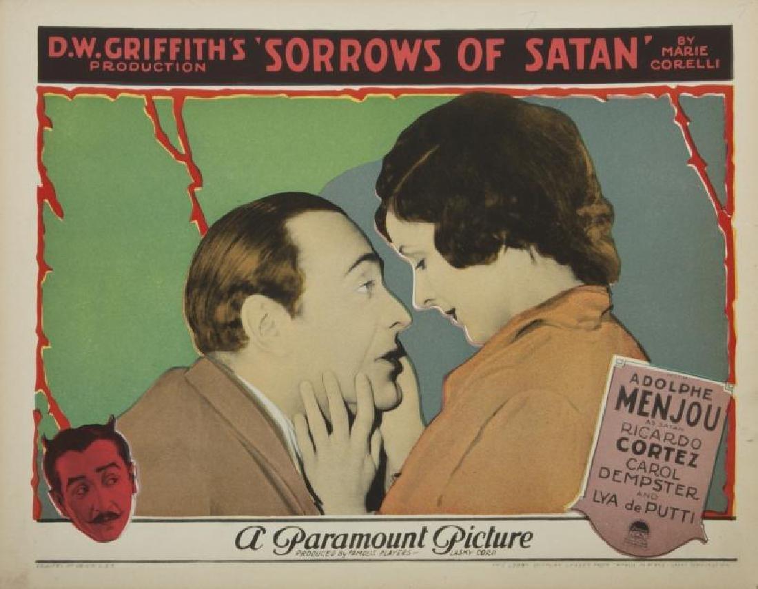 SORROWS OF SATAN LOBBY CARDS