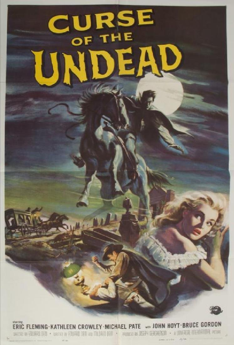 CURSE OF THE UNDEAD POSTER