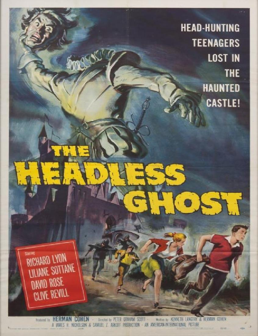 HEADLESS GHOST POSTER