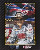 RICHARD PETTY SIGNED 2010 NASCAR HALL OF FAME POSTER