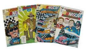 RICHARD PETTY COMIC BOOKS, GROUP OF FOUR