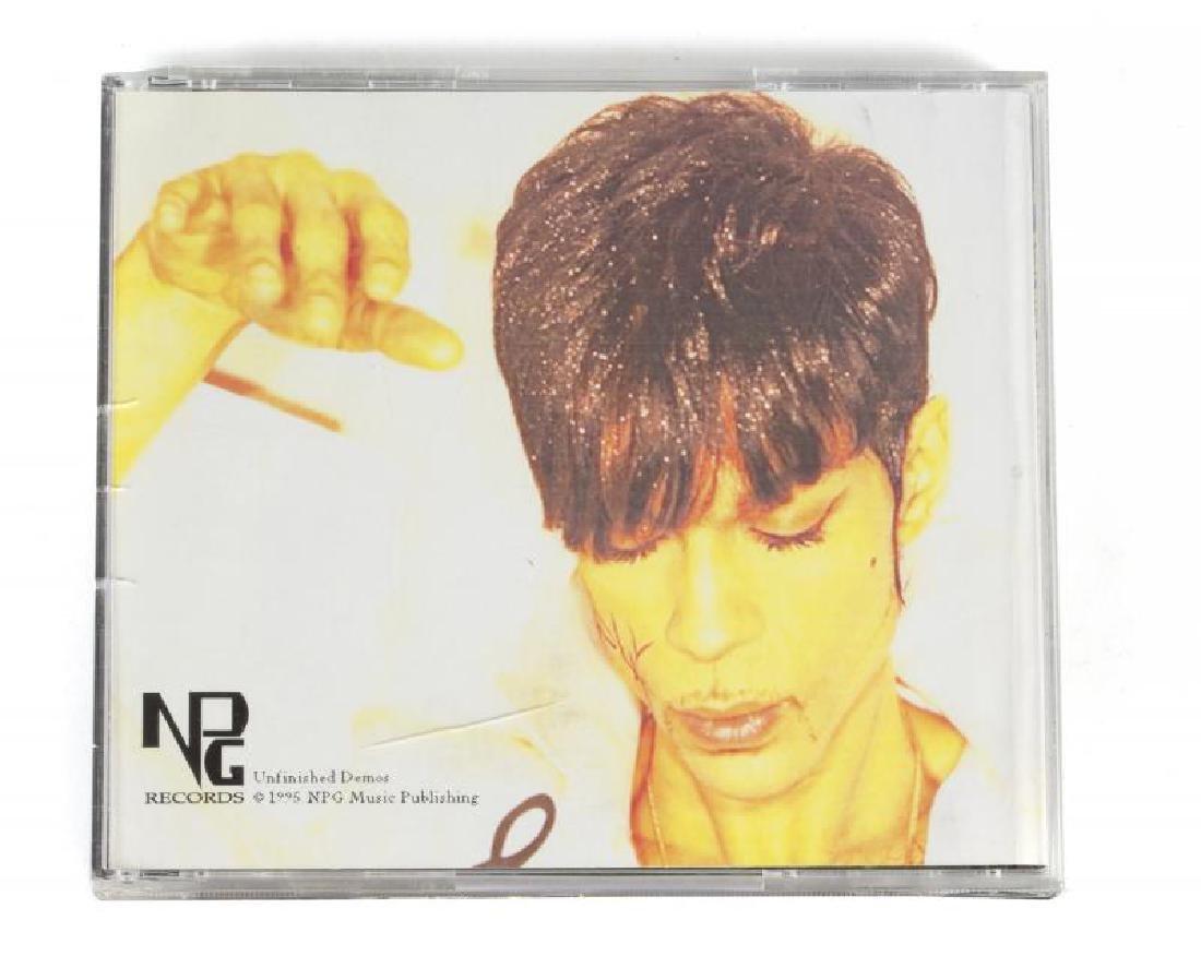PRINCE ORIGINAL MOCK-UP CD GIFTED TO MAYTE GARCIA.•+ - 2