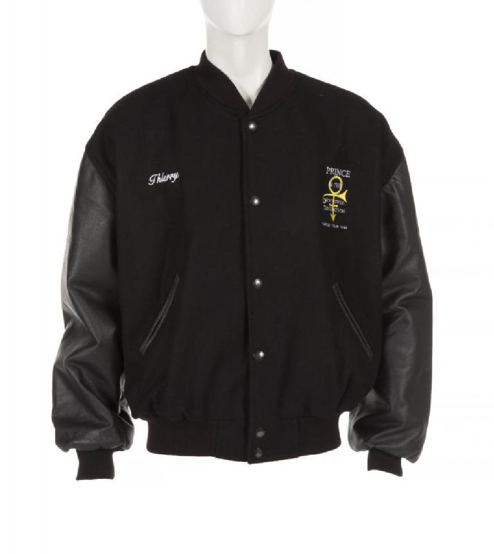 PRINCE DIAMONDS AND PEARLS TOUR CREW JACKET +