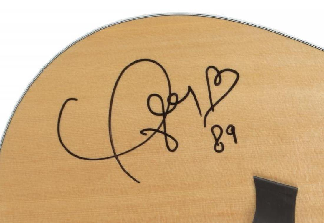 TAYLOR SWIFT SIGNED GUITAR • - 2