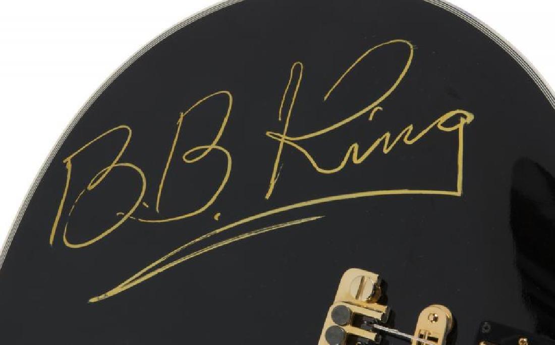 B.B. KING SIGNED CUSTOM GUITAR • - 2