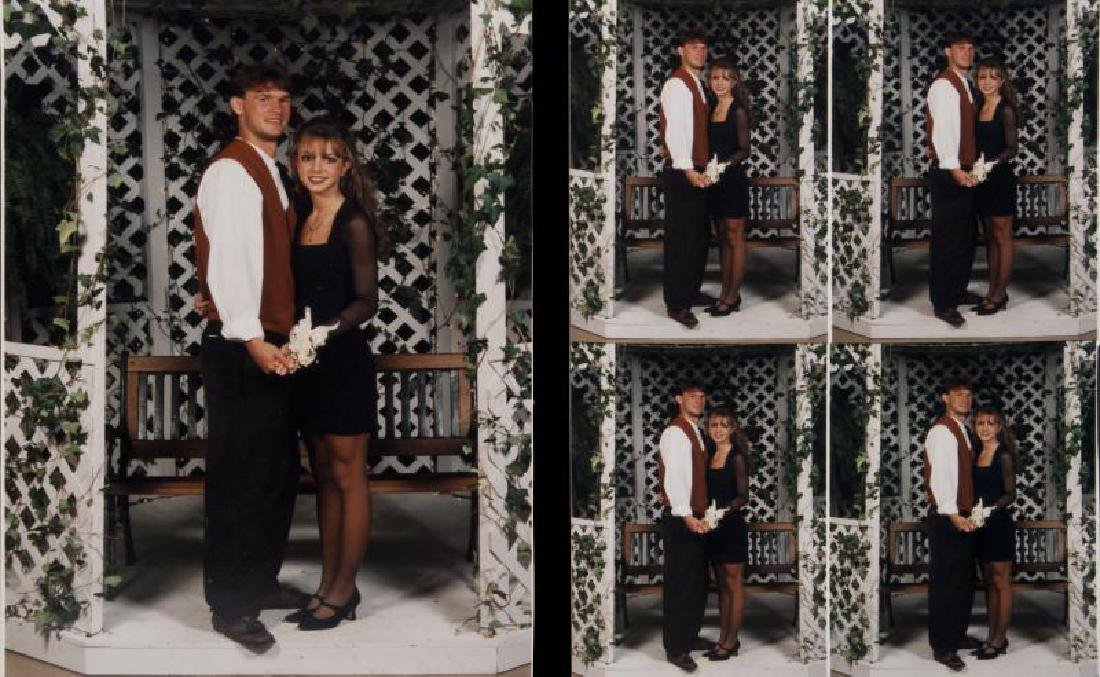 BRITNEY SPEARS CHRISTMAS FORMAL PHOTOGRAPHS