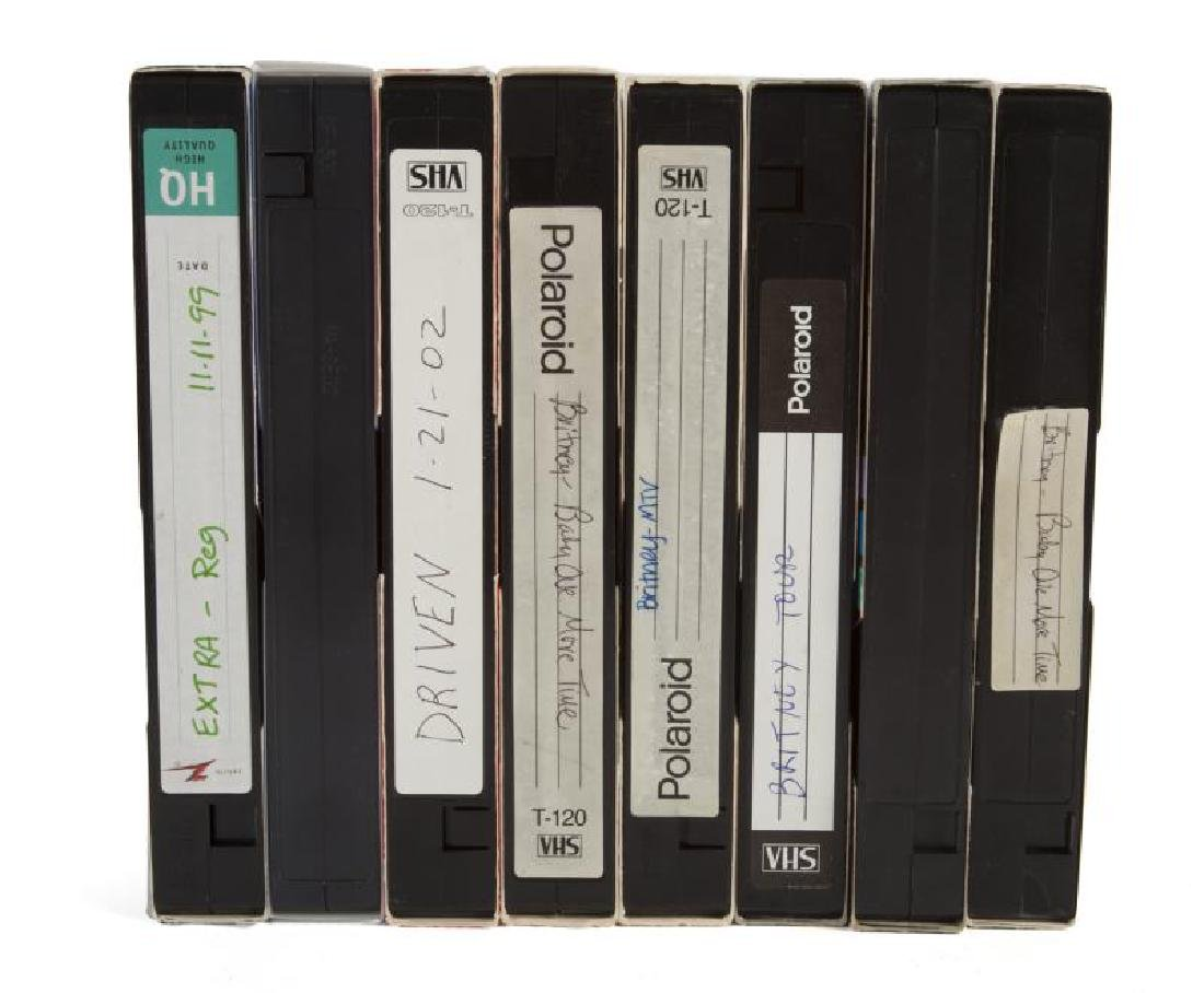 BRITNEY SPEARS EARLY VHS TAPES