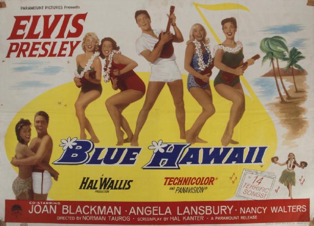ELVIS PRESLEY BLUE HAWAII POSTER