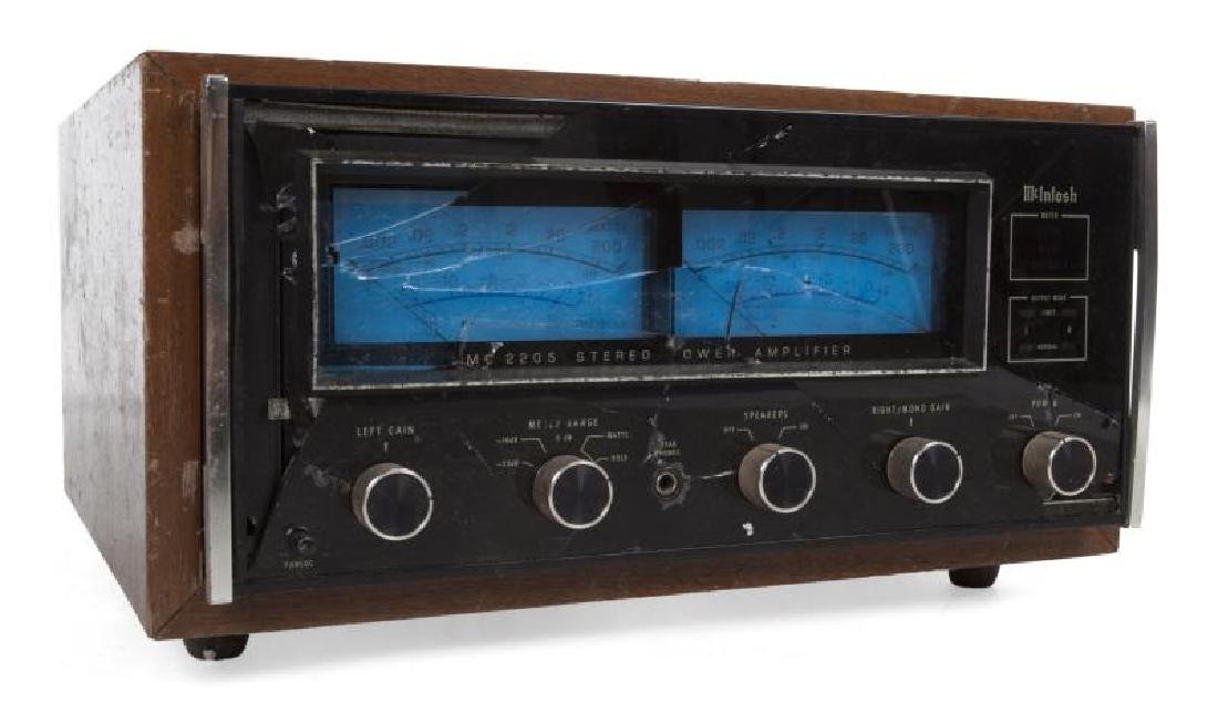NEIL YOUNG McINTOSH STEREO AMPLIFIER
