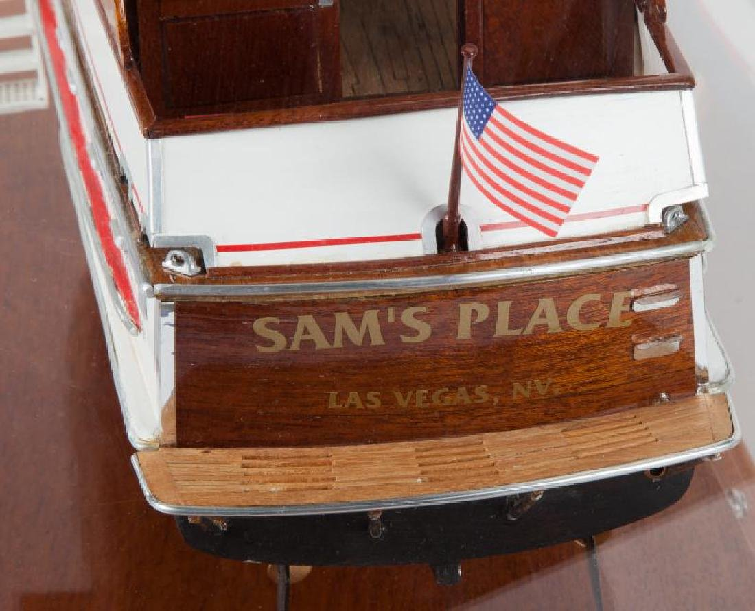 "JERRY LEWIS ""SAM'S PLACE"" MODEL YACHT - 4"