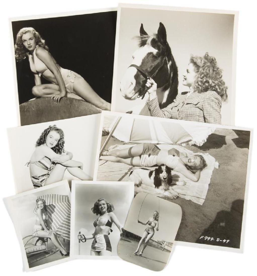 MARILYN MONROE EARLY MODELING PHOTOGRAPHS