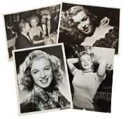 MARILYN MONROE PUBLICITY PHOTOGRAPHS